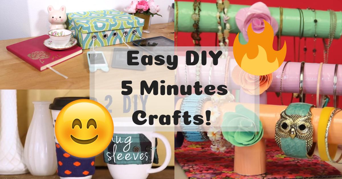 【DIY】 5 Minutes DIY Crafts! | CRAFT La™